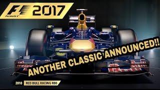 F1 2017: V8 2010 RED BULL CLASSIC CAR REVEAL!!!