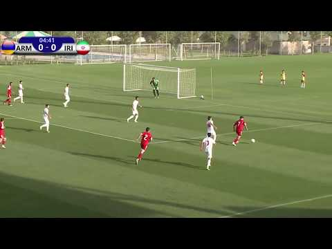 ARMENIA U19 VS IRAN U19 (27.09.2017 Friendly)