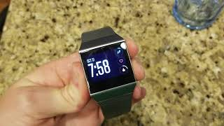 Hard Reset On Fitbit Ionic