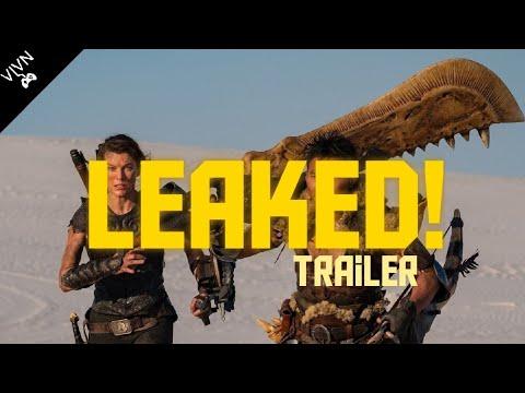 Leaked Monster Hunter Movie Trailer Gamer Update Youtube