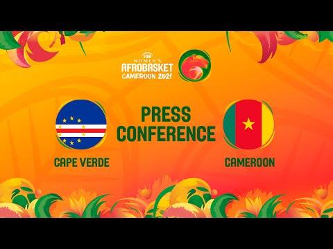 Cape Verde v Cameroon - Press Conference | FIBA Women's AfroBasket 2021