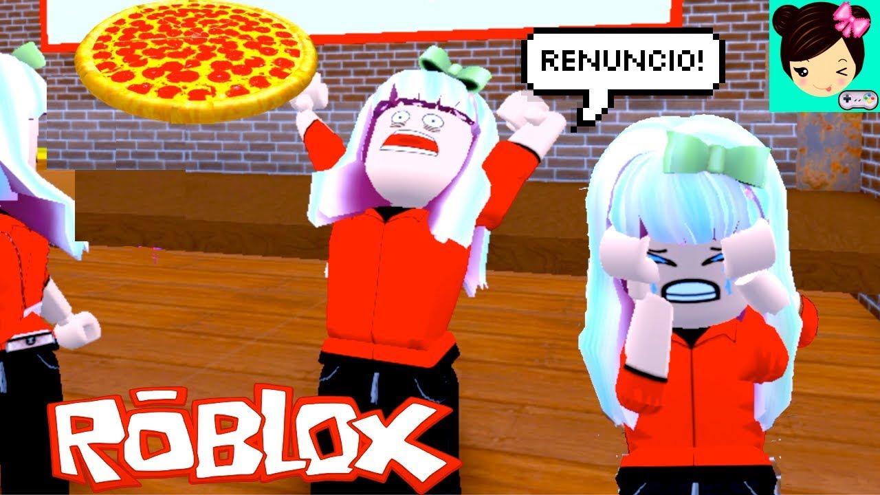 Renuncio A Mi Trabajo En La Pizzeria De Roblox Titi Juegos Youtube