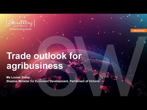 Trade outlook for agribusiness | SW Agri Connect Trade Forum