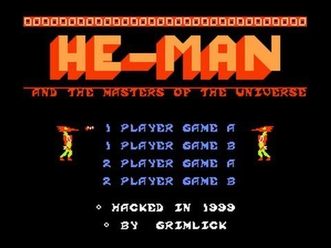 HeMan and the Masters of the Universe NES Cinemassacre Plays