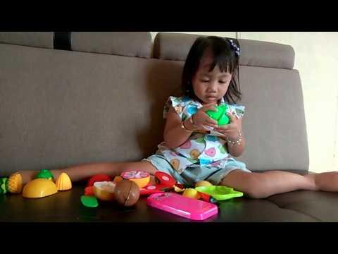 Mainan Buah dan Sayur Potong ( Cutting Fruit Toys )