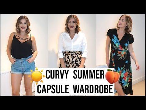 3f25c8d49e551 TRY ON Summer Curvy Capsule Wardrobe