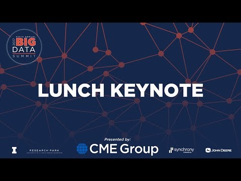 Lunch Keynote: Joe Jablonski- Co-founder and CTO of Ocient
