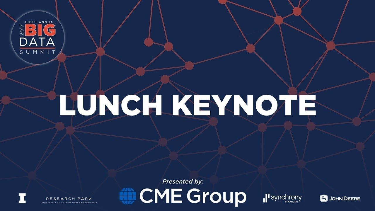 Big Data Summit 2017- Lunch Keynote: Joe Jablonski- Co-founder and CTO of  Ocient