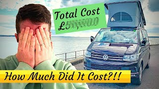 HOW MUCH?? - We Reveal How Much Our Volkswagen California Cost To Own!