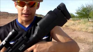 Black Ops Pellet Rifle Review/Shooting 2 Camera Test