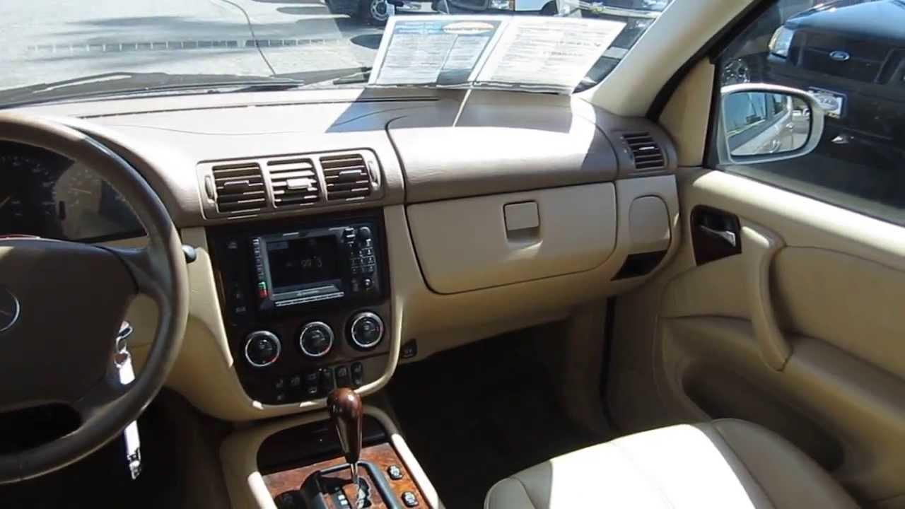 2003 mercedes benz ml500 gold stock l403170 interior for 2003 mercedes benz ml500
