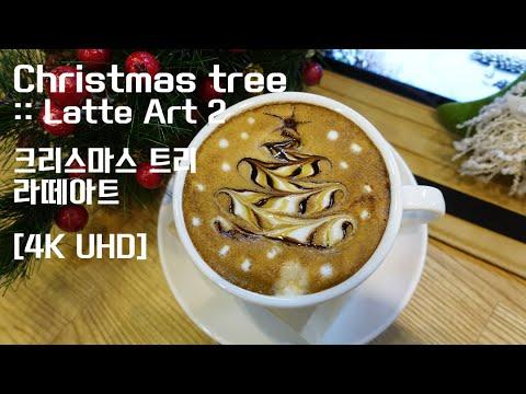 Christmas tree 2 :: Latte Art