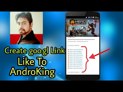 How To Create goo.gl Link Look Like Androking