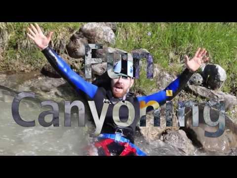 Fun Canyoning - Lechtal Tirol Österreich - Fun-Rafting