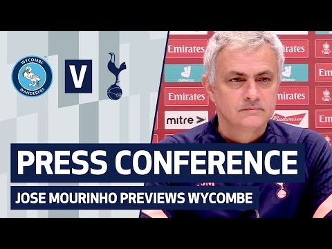 PRESS CONFERENCE | JOSE MOURINHO PREVIEWS WYCOMBE