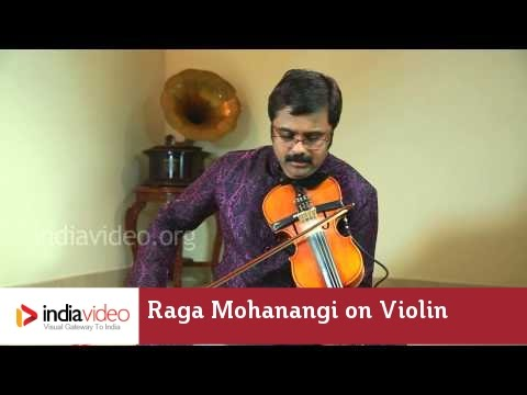 Raga Series - Raga Mohanangi on Violin by Jayadevan