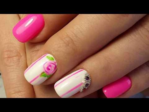 Фуксия цвет ногти