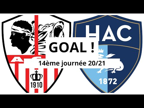 AC Ajaccio Le Havre Goals And Highlights