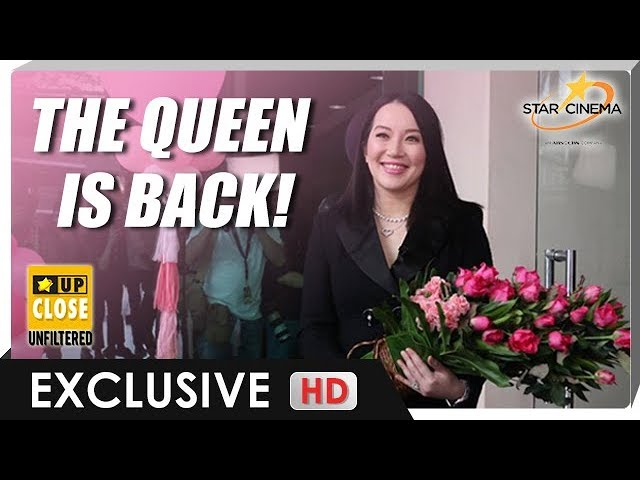 EXCLUSIVE | The Queen is back! Kris Aquino, nagbalik na sa Star Cinema! #1
