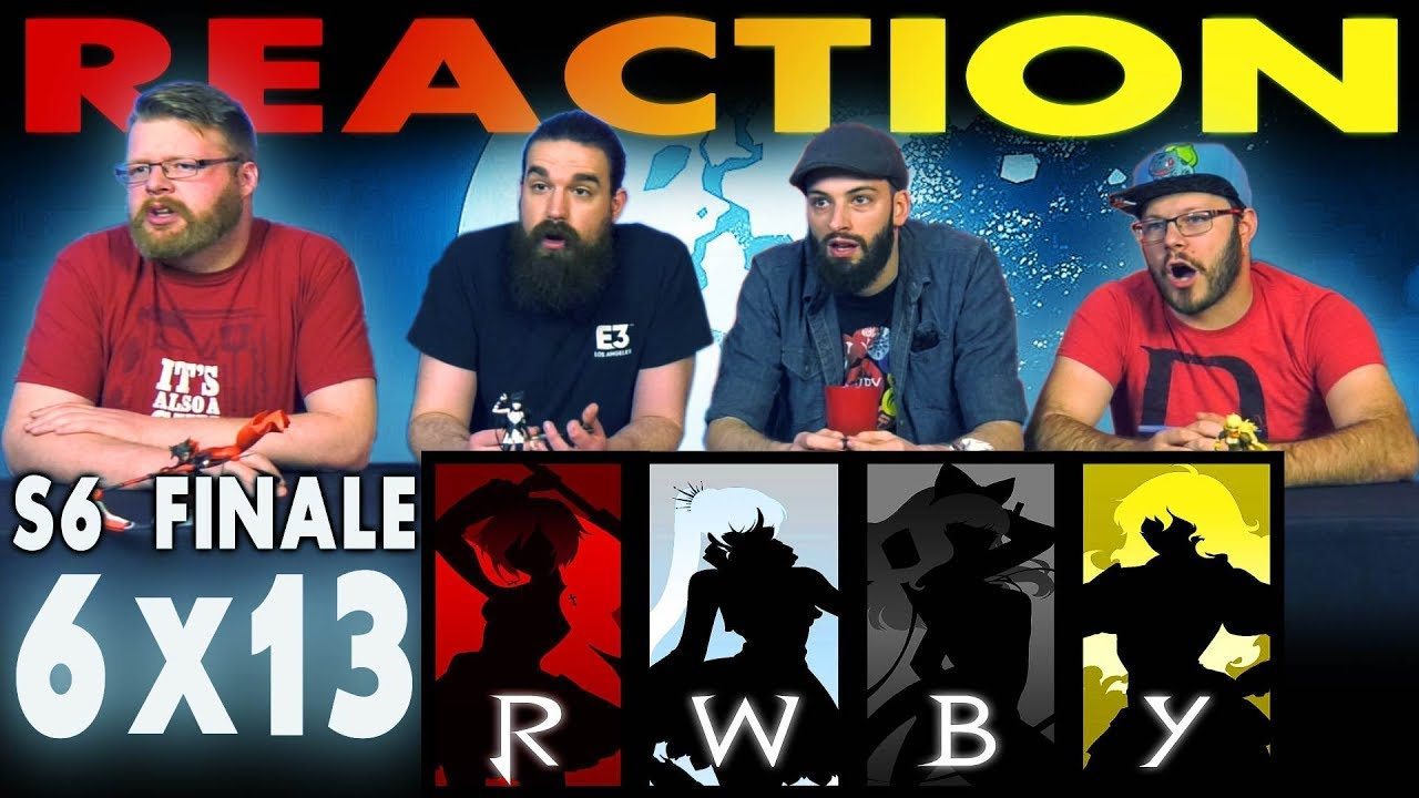 RWBY Volume 6 Chapter 13 FINALE REACTION!!