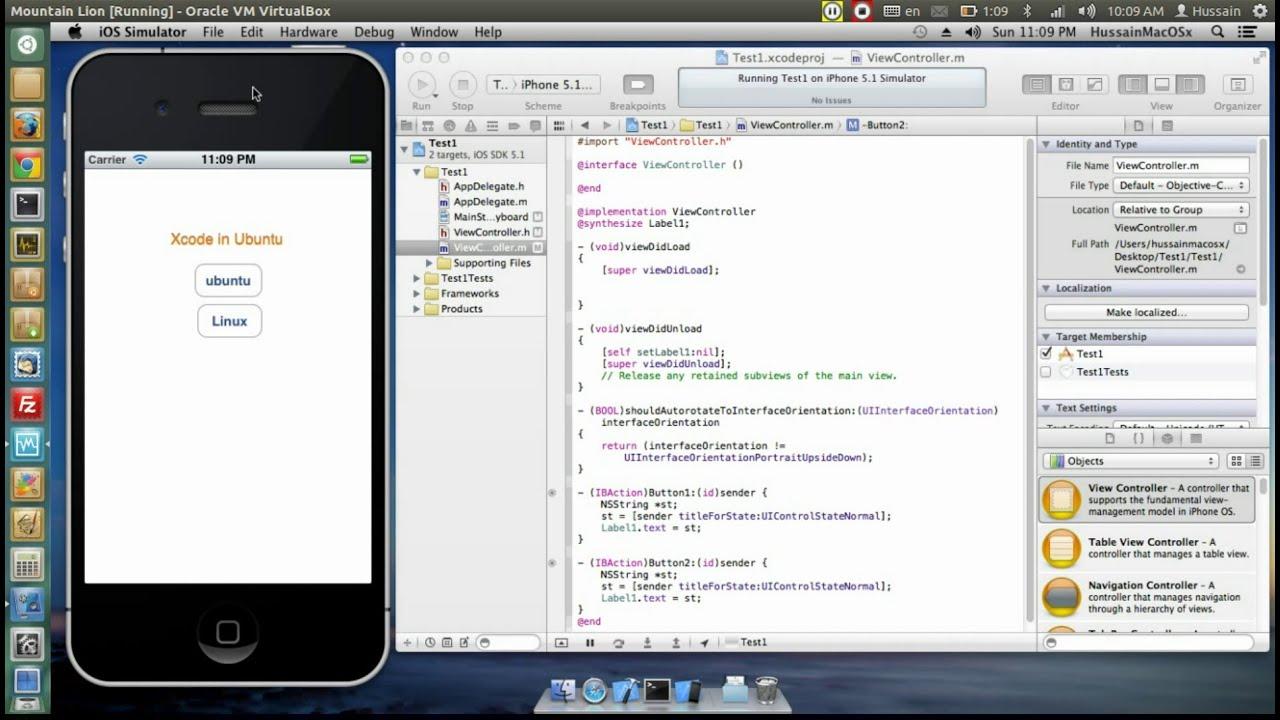 Xcode on Ubuntu Linux