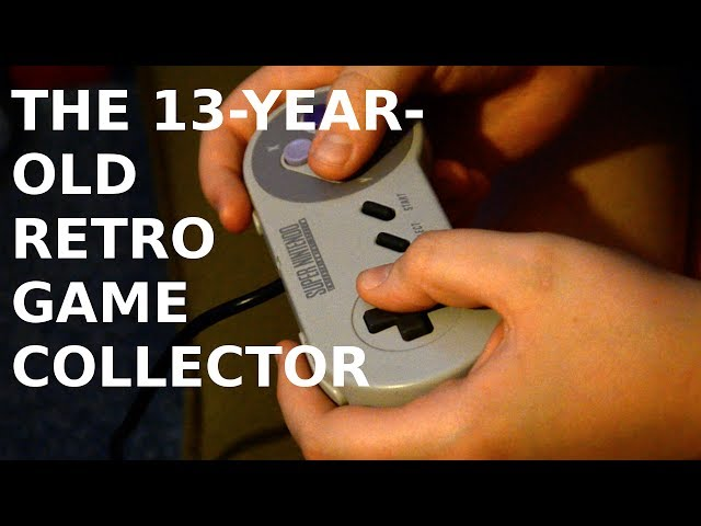The 13-year-old Retro Game Collector   Media Wise