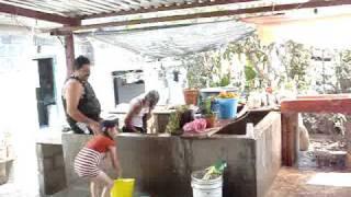 SABADO DE GLORIA EN EL CORTIJO ZACUALPAN, MEXICO