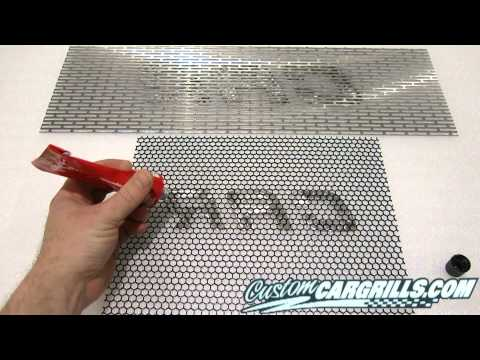 customcargrills.com Grill Lettering How-To