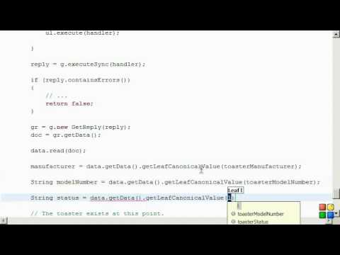 Netconf4Android Quickstart Step 7 Video 3