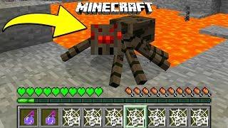 Minecraft: ZMIENIŁEM SIĘ W PAJĄKA! | Jak Grać Jako Pająk?
