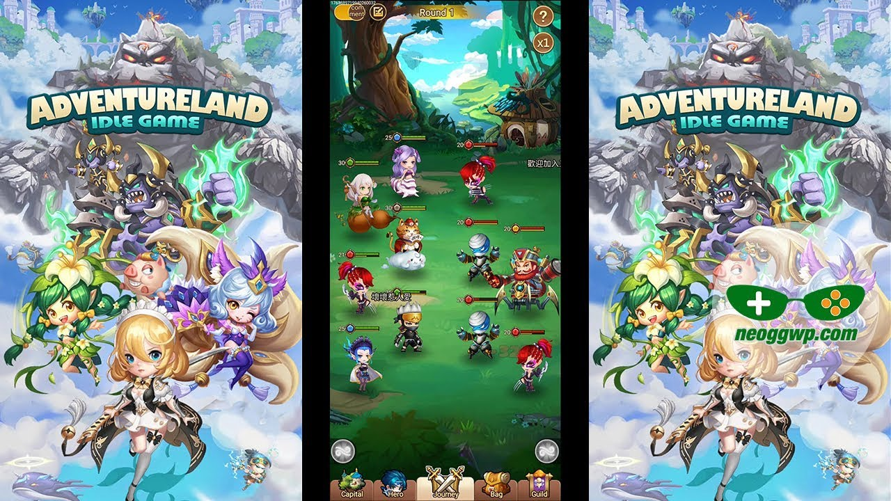 Idle Games 2020.Adventureland Android Apk Idle Rpg Gameplay Chapter 1 2
