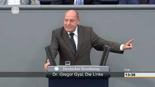 Gregor Gysi: Bundesregierung macht Deutschland außenpolitisch zum Aggressor