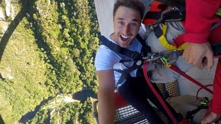 Worlds Highest Bridge Bungee Jump! I Day 5 in South Africa