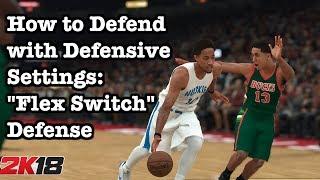 NBA 2K18 Best Defense Tutorial 2K18 Defensive Settings. How to defend 2K18 Tutorial #13