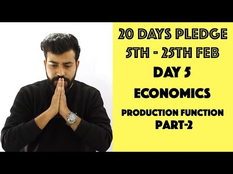 Day- 5 - Production Function Part 2- Graphs and Theory - class 12th #20dayspledge #commercebaba