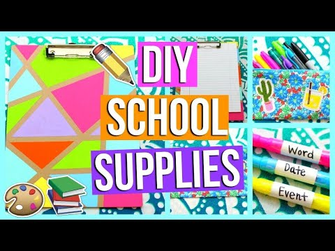 DIY Useful School Supplies Ideas! Cheap DIY Crafts for Back to School with DIY Lovers!#3