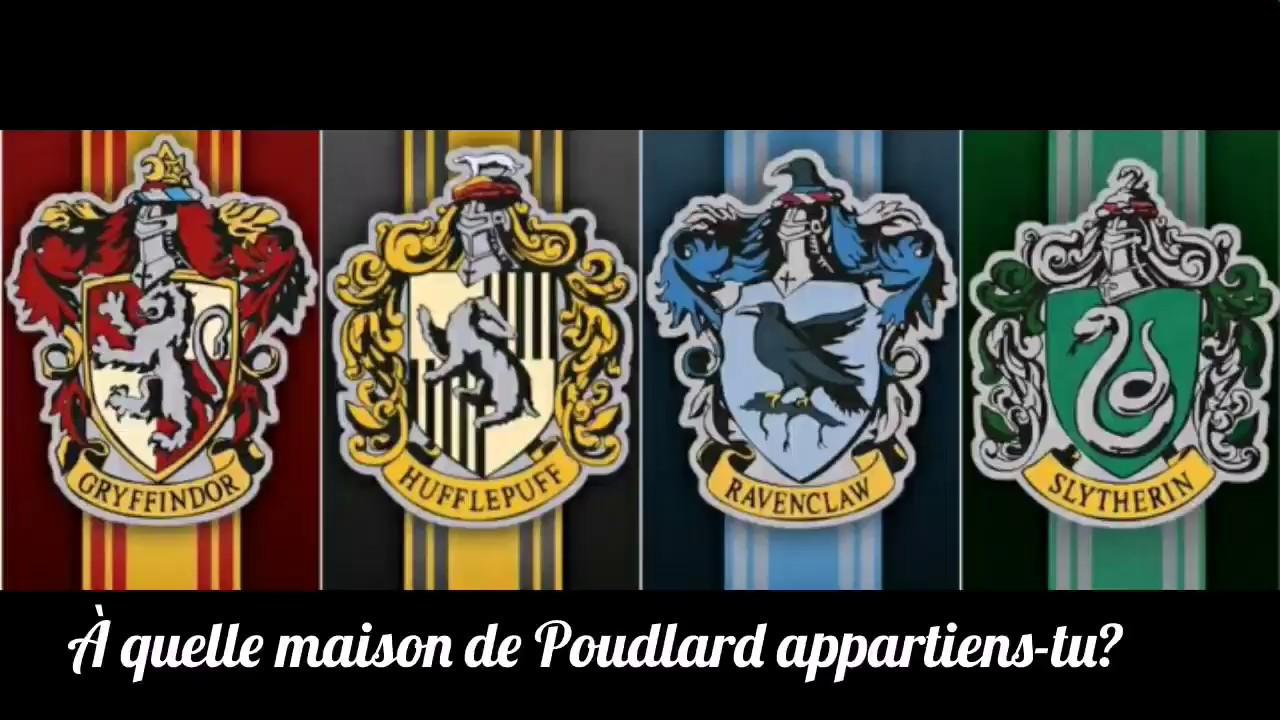 À quel maison de Poudlard appartiens-tu?
