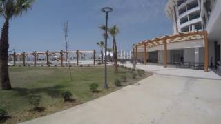Aquasis De Luxe Resort & SPA Road to main bulding and restaurant.