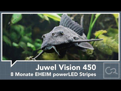 Juwel Vision 450 nach acht Monaten Betrieb mit EHEIM powerLED Stripes