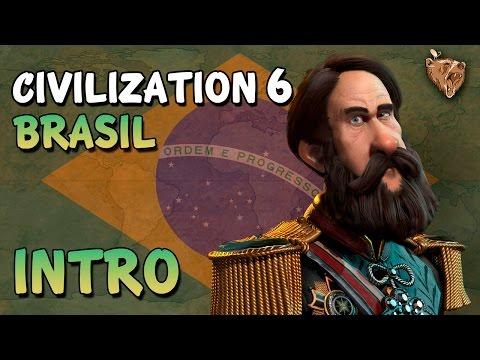 Civilization 6 Brasil #00 Introdução - Vamos Jogar Civ 6 Gameplay Português PTBR