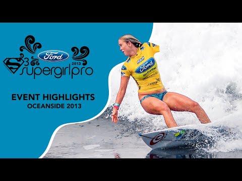 Highlights - 2013 Ford Supergirl Pro Surf