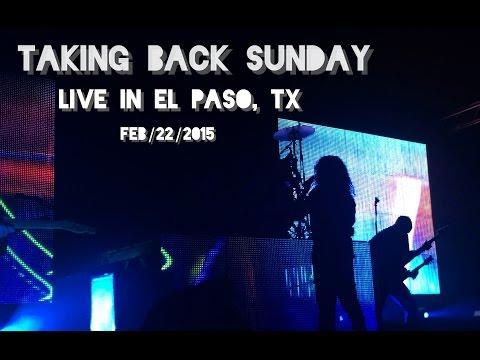 Taking Back Sunday (Live) in El Paso, TX 2015