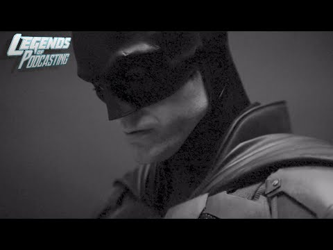 The Batman Camera Test (full speed + slow motion) | Legends of Podcasting
