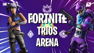 GGs Only In Arena Trios || Fortnite Told Me Use Code - JRG