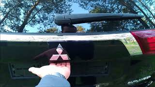 Как открыть капот, бензобак, багажник - Mitsubishi Outlander 3