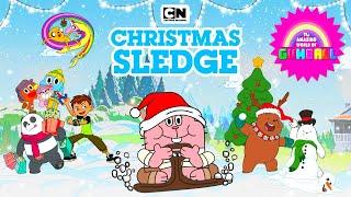 THE AMAZING WORLD OF GUMBALL: CHRISTMAS SLEDGE - WINTER BREAK (CHRISTMAS) - CARTOON NETWORK GAMES