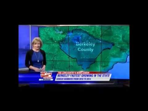 Berkeley County is Fastest Growing County in South Carolina