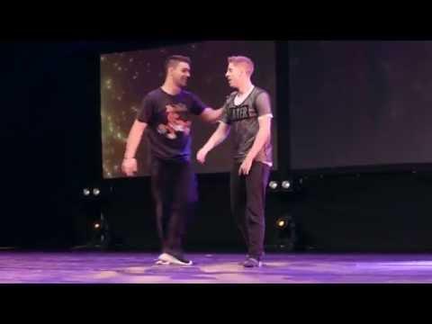 Blooper: Trevor Tordjman & Isaac Lupien Duet  The Next Step Live