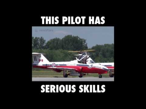 Crazy but very skilled pilot