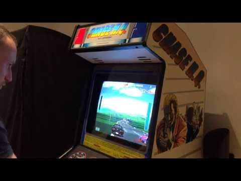Taito Chase HQ UK Cab Fully Restored